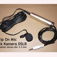 Clip On Mic buat Kamera DSLR