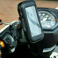 Holder Hp anti Waterproof air di spion motor universal Matic Bebek