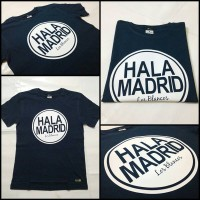 T-Shirt / Kaos Hala Madrid Navy