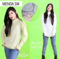 MENDA SWEATER (turtlencek vs roundhand) konveksi rajut sweater