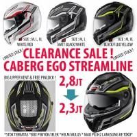 harga Clearance Sale : Caberg EGO Streamline Tokopedia.com