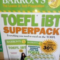 Toefl IBT SuperPack-Barron