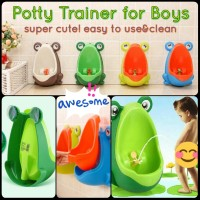 Frog Boy Potty Trainer Pipis Pispot Training Anak Cowo Tempat Pee