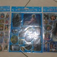 stiker sticker gambar foto rohani kristen Tuhan Yesus