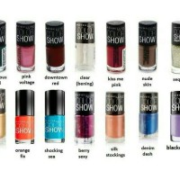 Maybelline Color Show Nail Polish Original - Kutek - Kuku