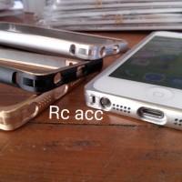 Bumper iPhone 4 4s 5 5s 6 6plus Case Cover Metal Motif Alumunium