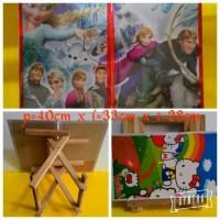 Meja Lipat Frozen / Meja Belajar Lipat / Meja Belajar Anak