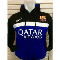 Sweater Hoodie Bola Barcelona B-631 # Kemeja Flanel Pria Wanita Imlek