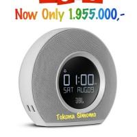 harga JBL Horizon - Speaker Bluetooth Clock Radio With USB Charging (White) Tokopedia.com