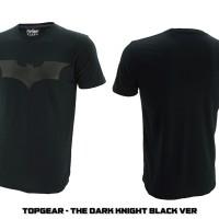 Jual T-SHIRT / KAOS / BAJU SUPERHERO BATMAN THE DARK KNIGHT BLACK VERSION Murah