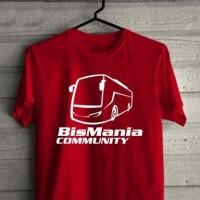 Kaos Bismania Community Bis Mania T Shirt Busmania Bus mania
