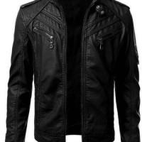 Jual jaket kulit PU / jaket ariel / jaket semi kulit Murah