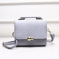 TAS GREY MODIS FASHION TOTE BAG JINJING KOREA SELEMPANG BAHU CANTIK