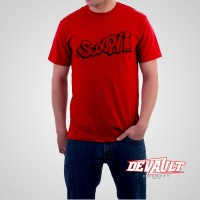 Kaos Honda Scoopy (Graffity Edition) Red