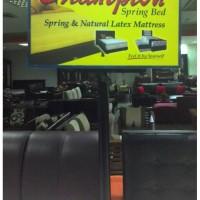 Kasur Spring Bed Latex Murah Uk 90 Tangerang