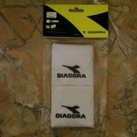 diadora wrisband tennis/basket white original asli murah