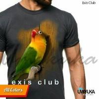 harga kaos 3D burung love bird/kaos3d umakuka/kaos pria Tokopedia.com
