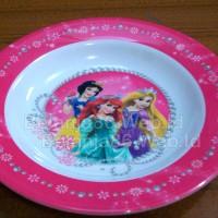Piring Melamin Karakter Disney Princess - Golden Dragon