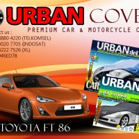 TOYOTA FT 86 SILVER COVER SELIMUT MOBIL URBAN ANTI AIR WATERPROOF