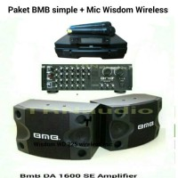 harga Paket simple BMB + wisdom wireless Tokopedia.com