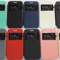 Sarung Ume Case Casing Flip Cover Dompet Lenovo A369 A 369 A369i