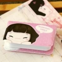 tempat kartu Niuzai lucu / Niuzai multi-card package book SCH002