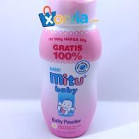 Bedak Bayi merk MITU (200 gr) pink - bedak bayi - Baby Powder