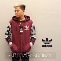 Sweater/Switer/Jaket/Hoodie/Sporty/Bronzy ADIDAS Grade Ori Merah