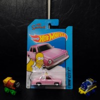 Hotwheels The Simpsons Family Car.