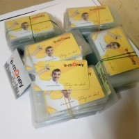 E-money Bank Mandiri saldo rp 20.000 print custom
