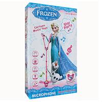 harga Mainan Standing Double Mic / Microphone / Micropon Anak Karaoke Frozen Tokopedia.com