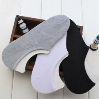 Jual Kaos Kaki hidden sock COWO CEWE PRIA WANITA hitam putih abu abu kulit Murah
