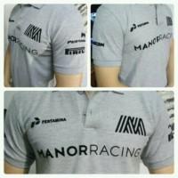 Polo shirt/kaos kerah/MANOR RANCING,DISTRO terbaru