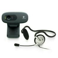Logitech Webcam C270 HD + Headset