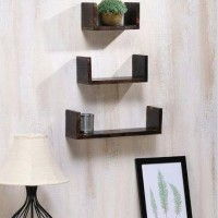 1pc Type U Floating Shelf/ Rak Dinding Minimalis/ambalan