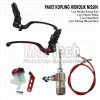 Paket Kopling Hidrolik Master Rem Nissin + Tabung minyak CB 150 R