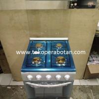 Kompor Gas 4 Tungku + Oven Winn Gas W-5050 (Free Selang + Regu Winn Gas)