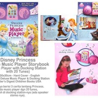 deluxe princess music player book