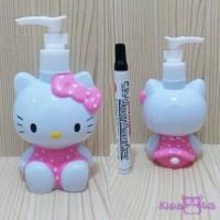 Botol Pump Hello Kitty