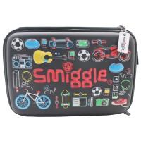 Smiggle Kotak Pensil - Boy Double Hardtop Pencil Case