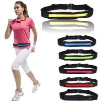 Pocket belt running sport elastic tas lari sepeda bag waterproof waist