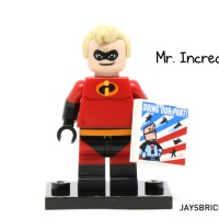 Lego Original Minifigure Mr Incredible Disney Series