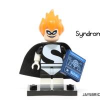 Lego Original Minifigure Syndrome Incredible Disney Series