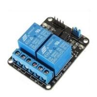 2 Channel Ch Relay Modul Module 5 V Volt Low Trigger Wemos Arduino