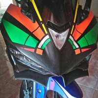Winglet Yamaha R25 Look Like Ninja H2