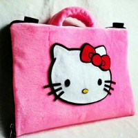 Tas Laptop 12 Inch | Hello Kitty Motif Louis Vuitton Cantik