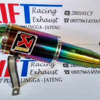 Knalpot Akrapovic Lorenzo Rainbown Full System Untuk Motor Tiger
