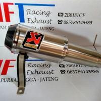 harga Knalpot Akrapovic lorenzo titan full system untuk motor MegaPro Tokopedia.com