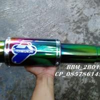 Knalpot Termignoni GP Rainbown Full System Untuk Motor Sonic 150R