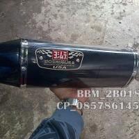 Knalpot Yoshimura R77 Carbon Double Hole Full System Untuk Motor Tiger